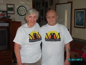 Journey recipients, Nancy & Babe, showing of their MM pride!