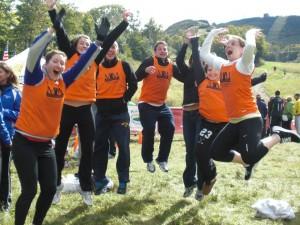 MM's 2011 RTB Team Jumps for Joy!