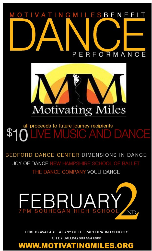 Motivating Miles Dance Benefit Poster JPEG